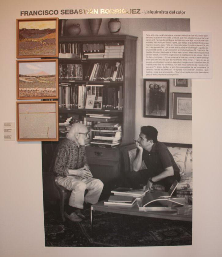 Estudis d'Art. Francisco Sebastián. Imagen cortesía del EMAT.