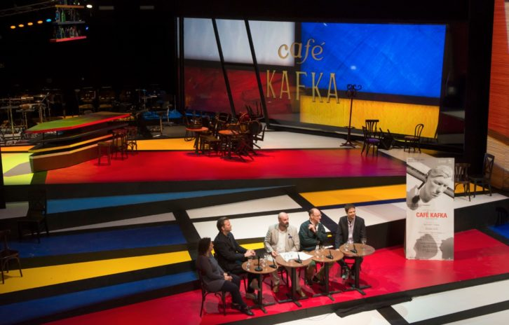Presentación de 'Café Kafka'. Imagen cortesía de Palau de les Arts.