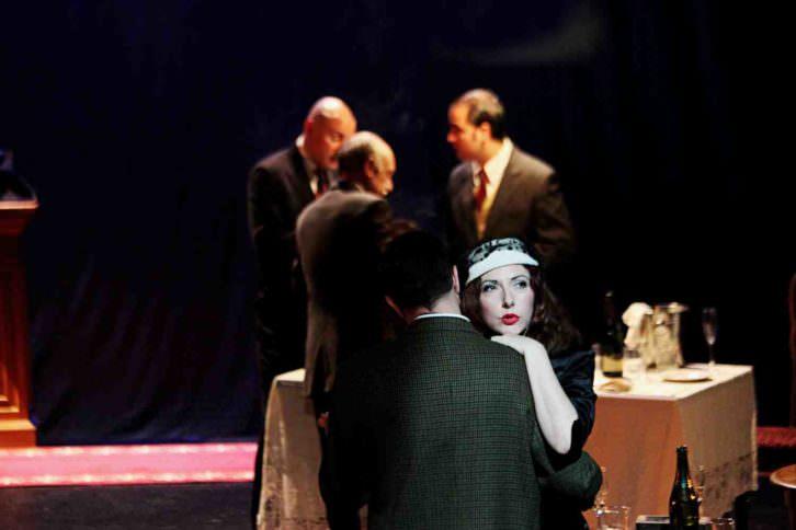 Escena de 'La Soga'. Foto de Juan Terol por cortesía de Sala Russafa