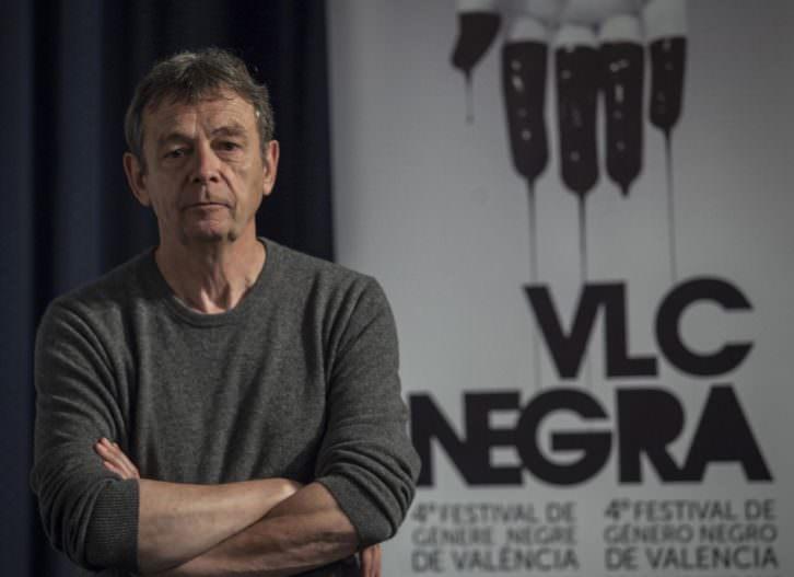 Pierre Lemaitre en el Instituto Francés dentro del Festival Valencia Negra. Foto: Europa Press.