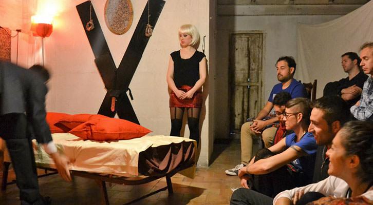 Imagen de uno de los espectáculos de Cabanyal Íntim. Fotografía: Lorena Riestra.