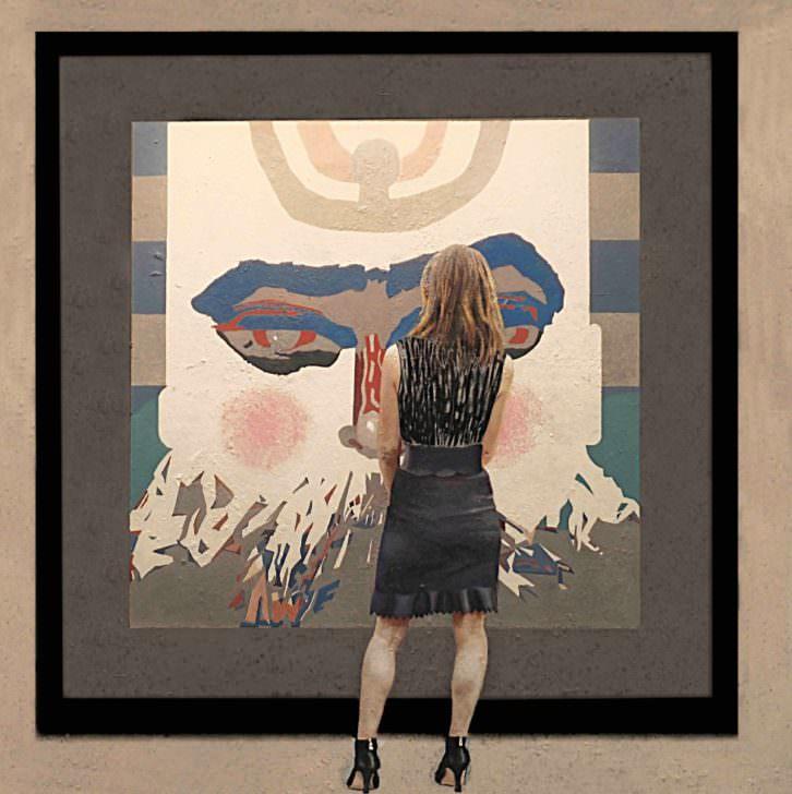 Obra de Marlén Ramos. Imagen cortesía de Russafart.