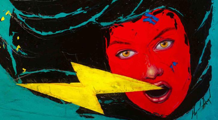Obra de Miguel Ángel Aranda. Imagen cortesía de Russafart.