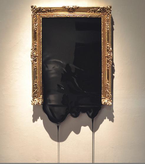 'Bodegón con aceituna'. Imagen cortesía de la galería.