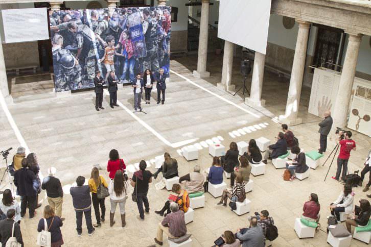 Un instante de la rueda de prensa de PhotOn Festival. Fotografía cortesía del festival.