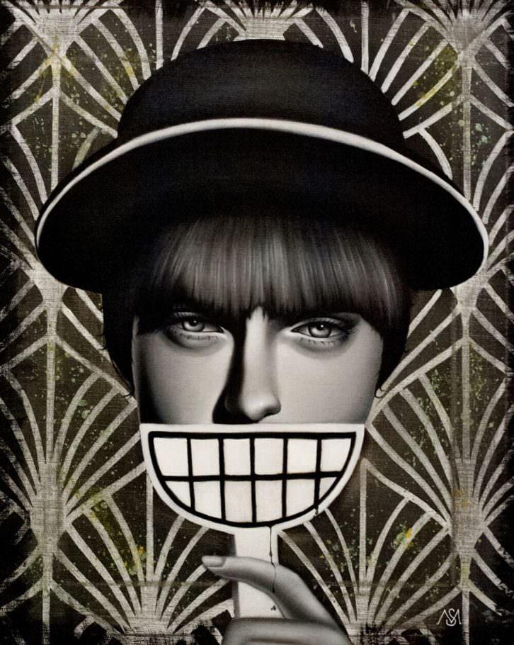 Make me laugh, de Seven Moods. Imagen cortesía de Plastic Murs.