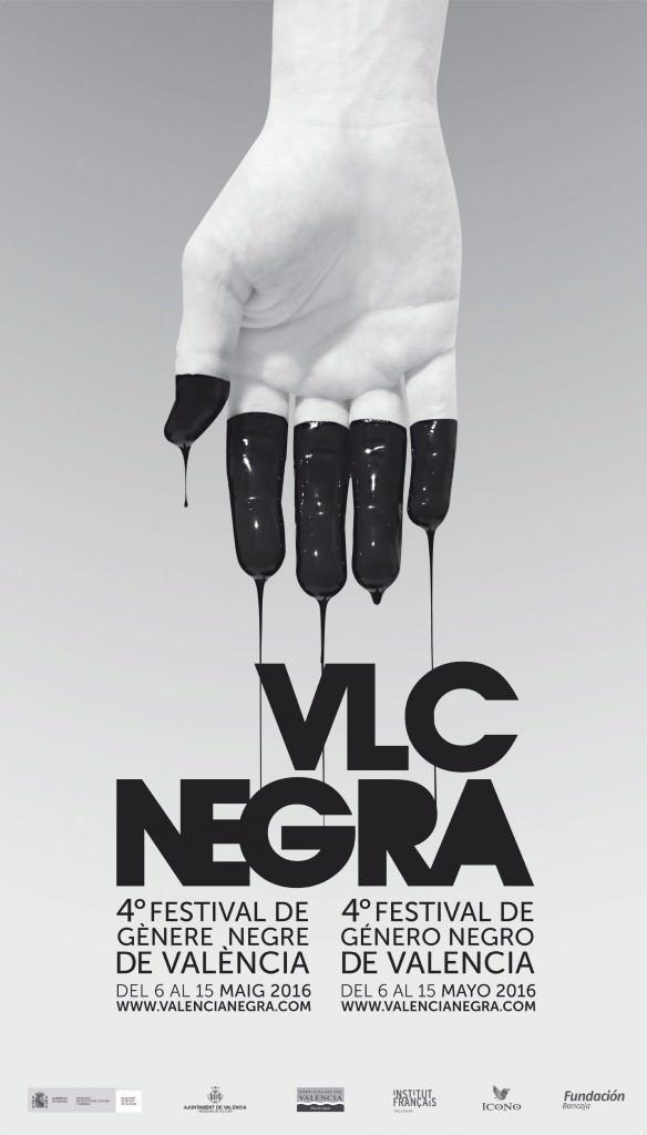VLC Negra. Cartel de Fernando Cervera.