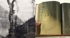Dos obras de los dos artistas. Imagen cortesía Octubre.