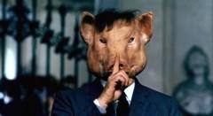 Fotograma del filme 'Porcile', de Pier Paolo Pasolini. Fotografía cortesía de Canibaal.