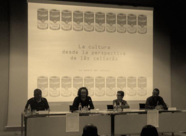 Una mesa redonda celebrada en el marco de Cultura Sin Gluten. Imagen cortesía de la organización.