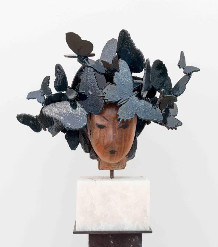 Butterflies, de Manolo Valdés. Imagen cortesía de Marlborough Fine Art.