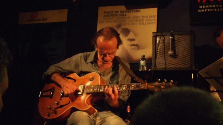 Carlos Gonzálbez. Imagen cortesía del Festival de Jazz de Valencia.