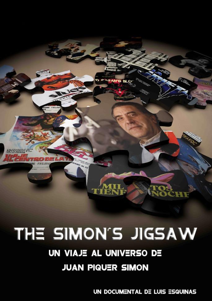 Cartel de Simon's Jigsaw, de Luis Esquinas.