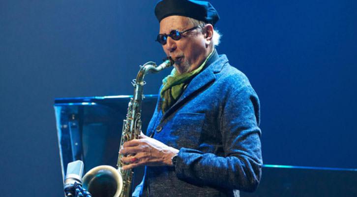 Charles Lloyd. Imagen cortesía del Festival de Jazz de Valencia.