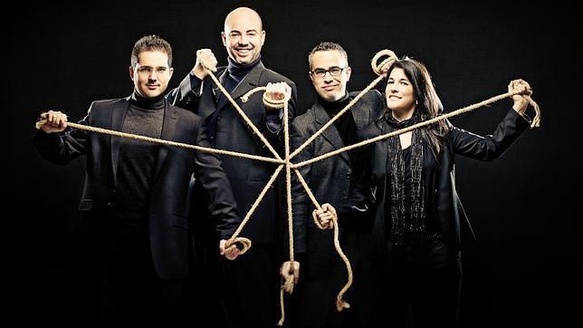 Imagen del cuarteto Quiroga, participante en la presente edición de Ensems. Fotografía cortesía del festival.