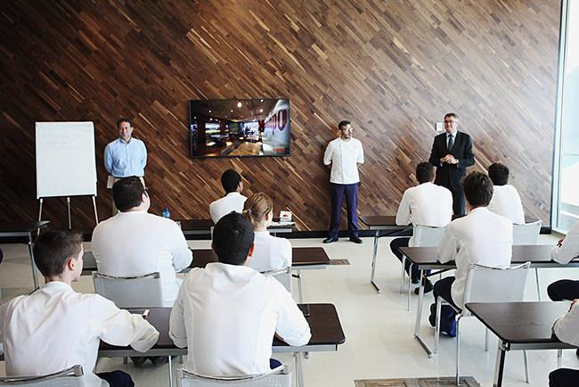 Una instantánea del nuevo espacio de formación gastronómica. Fotografía cortesía de la organización.