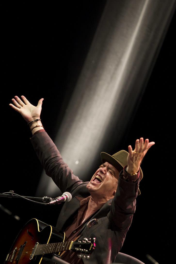 Juan Perro. Fotografía de Daniel Pérez por cortesía del Festival de Jazz de Valencia.