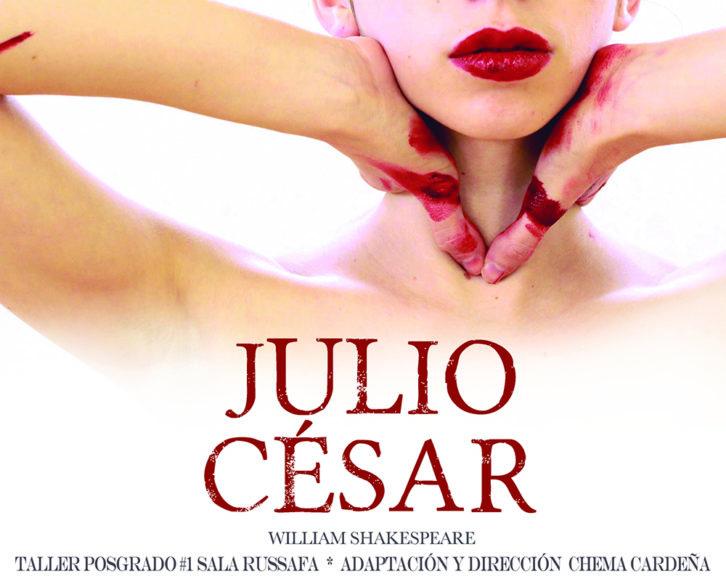 Cartel de Julio César. Imagen cortesía de Sala Russafa.