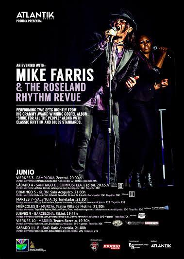 Mike Farris - Gira - 2016