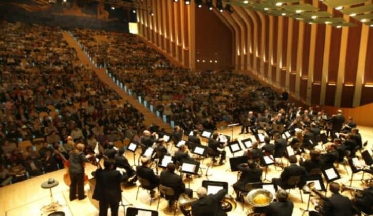 Imagen de un concierto, cortesía de la FSMCV.