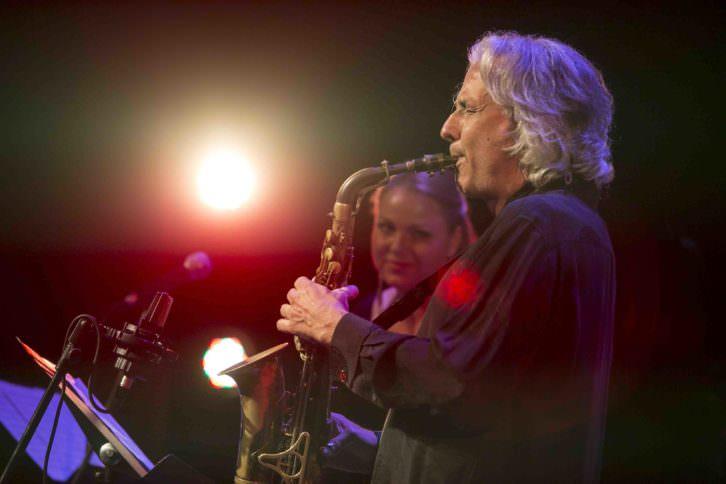 Perico Sambeat. Fotografía de Miquel Monfort por cortesía del Festival de Jazz de Valencia.