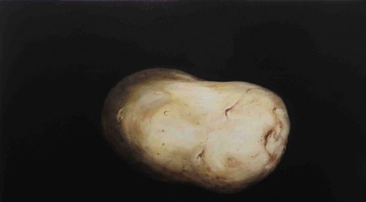 Patata, obra de Miguel García Cano.