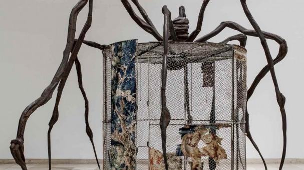 Spider, de Louise Bourgeois. Museo Guggenheim Bilbao.
