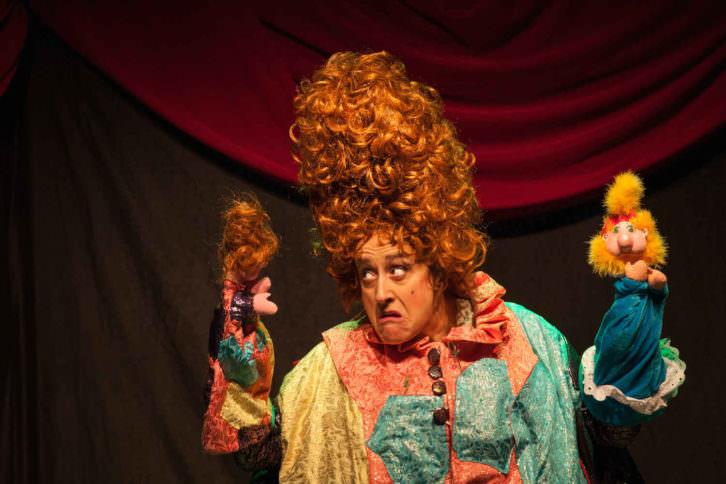 Escena de 'El traje nuevo de la emperatriz'. Imagen cortesía Tramant Teatre.