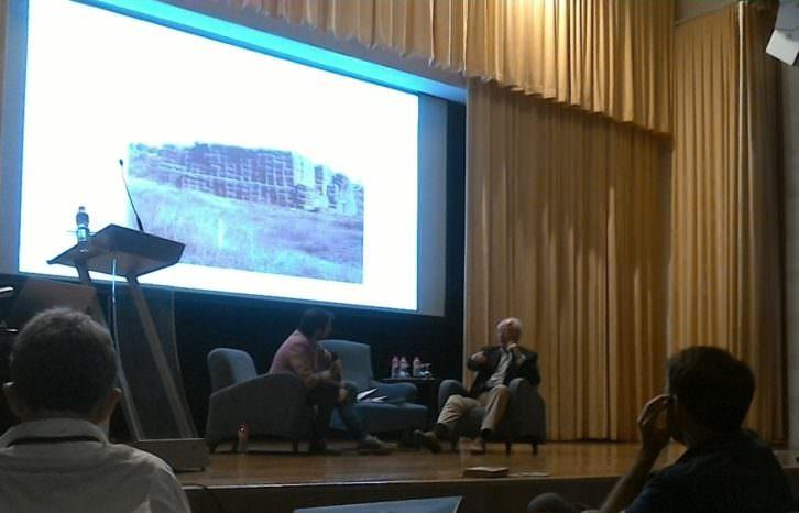 II Congreso de Perioodismo Cultural celebrado en el Palacio de la Magdalena de Santander.