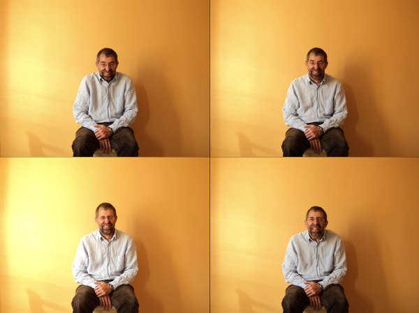 El hombre que ríe. Imagen cortesía Artium.