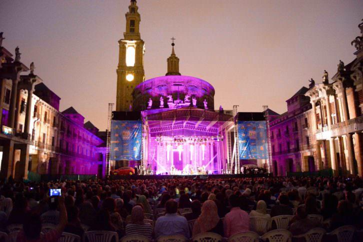 Vista general del concierto de Ara Malikian celebrado en Laboral Ciudad de la Cultura de Gijón. Fotografía: Jose Ramón Alarcón.