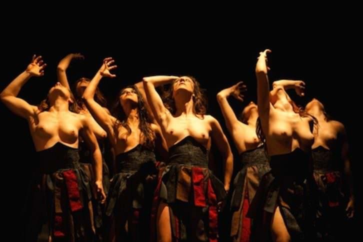 Las bacantes. El grito de la libertad de Sennsa Teatro. Imagen cortesía de la organización.