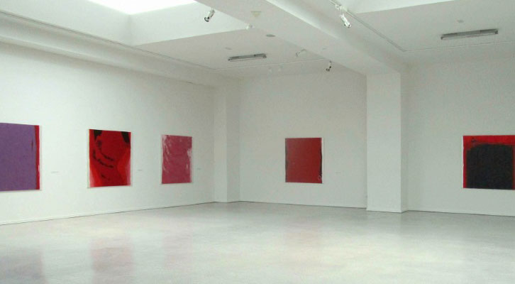 Vista de la exposición de Óscar Bento.