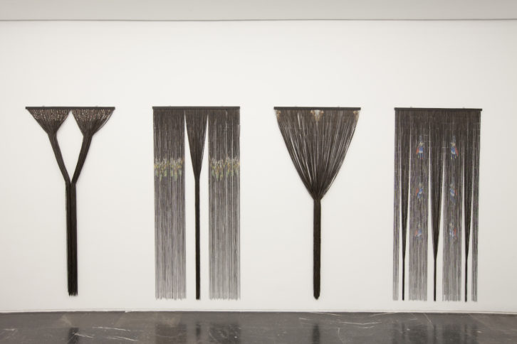 Instalación de María León. Fotografía: Nacho López Ortiz.
