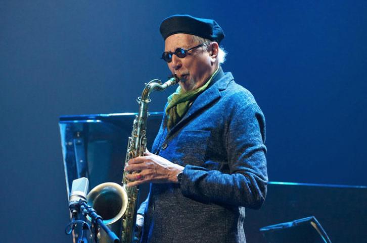 Charles Lloyd. Imagen cortesía del Festival Internacional de Jazz de Valencia.