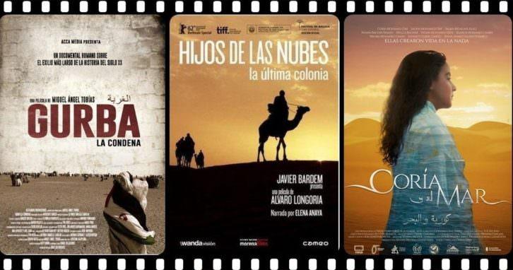 Cartel del ciclo 'Conocer el mundo saharaui a través del cine'. Imagen cortesía del Colegio Mayor Rector Peset.