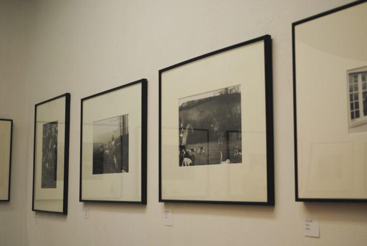 Vista general de las fotografías de Robert McNight. Fotografía: María Ramis.