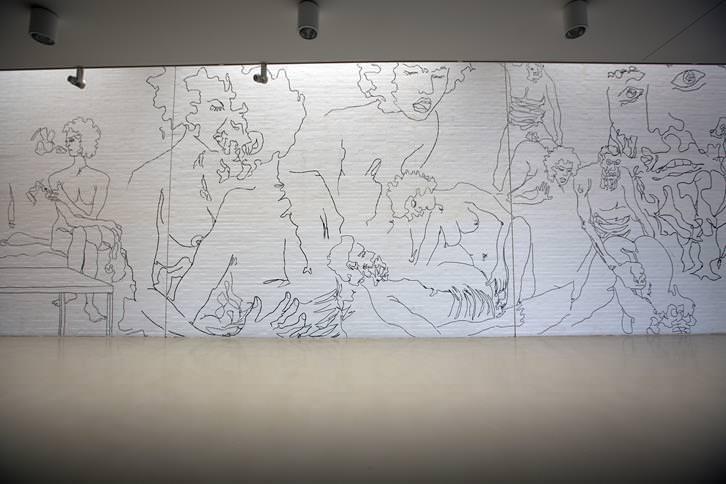 Vista de la exposición. Fotografía Benya Acame.