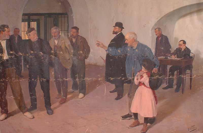El sátiro, de Antonio Fillol. Museo de Bellas Artes Gravina de Alicante.