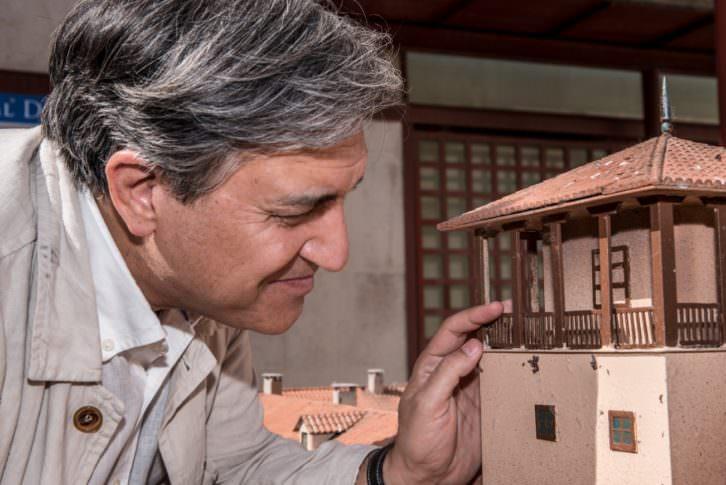 José Luis Corral. Fotografía de Carlos Ruiz.