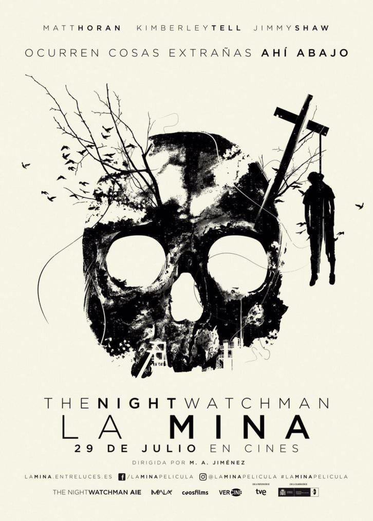 Cartel de 'La Mina', película de Miguel Ángel Jiménez.