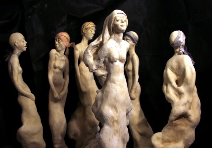 Levedad, de María Gómez. Imagen cortesía de la autora.