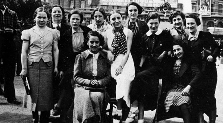 Las mamás belgas. Imagen cortesía de la Diputación de Valencia.