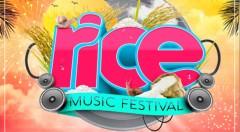 Cartel del Rice Music Festival. Imagen cortesía del Ayuntamiento de Sueca.
