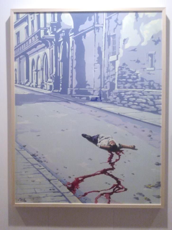 Cadáver solitario. Fotografía: María Ramis.
