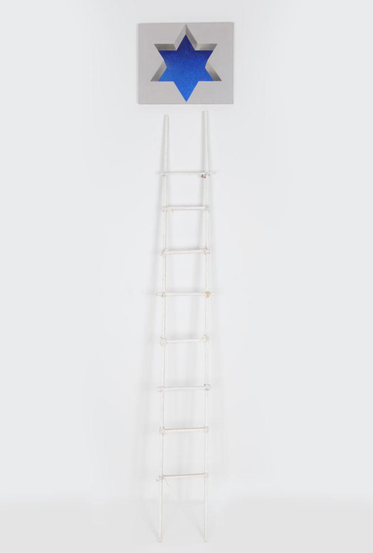 Del costat d'allà. Una de las obras de Artur Heras que se pueden ver en la muestra. Imagen cortesía de la galería.