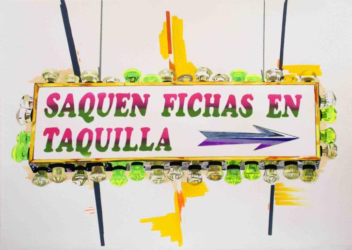 Obra de Alejandra de la Torre. Imagen cortesía de Pepita Lumier.