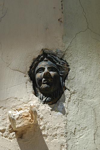 Canalón de la Calle Pelayo. Imagen cortesía de los autores.