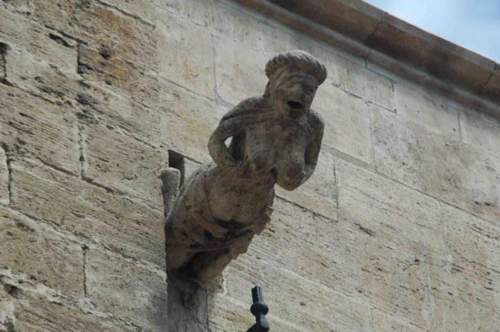 Gárgola Catedral de Valencia.
