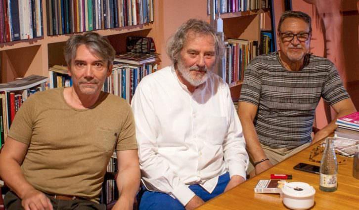 De izda a dcha, Antonio Barroso, Miquel Navarro y José Luis García Ibáñez.